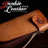 REDMOON レッドムーン Junkie Leather Classic/ジャンキーレザークラシックロングウォレットオリジナル焼印ロゴ入 限定モデルCW-02RMCJ