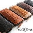 PAILOT RIVER パイロットリバー 長財布 革 LP2000-PRQTメンズ ロングウォレット 革財布 レザー
