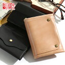 REDMOON レッドムーン Ghost(ゴースト) レイヤード・プレーン 二つ折り財布 S-GT2[メンズ 男物 本革 サドルレザー 日本製 職人 匠 手作り 誕生日プレゼント 二つ折り財布 二つ折