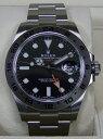【ROLEX】 ロレックス エクスプローラーII 216570 ブラック 腕時計 メンズ 【新品】r000000000000001 代引不可