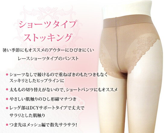 レヴアル 【日本製】ショーツタイプストッキング...の紹介画像2