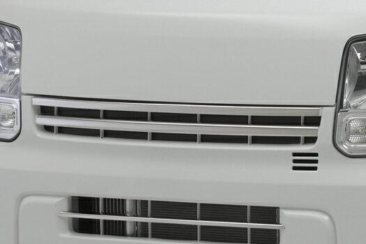 【REIZ(ライツ)】DA17V エブリイバンフロントグリルフィン2ピースグリルカバー/カバー/エブリィエブリー
