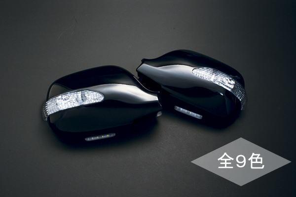 【Revier(レヴィーア)】ラウム(EXZ10/EXZ15)用LEDウインカードアミラーウェルカムランプ付純正色塗装済み!202/209/068/040/064/1D2/メッキ【gue5t65】【kzxeu7t】