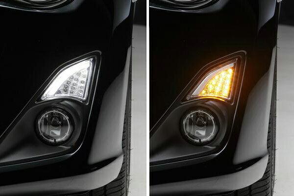 「限定5セット」【激安セール】トヨタ 86 (ZN6)LED 3Dライトバー付LEDフロントウィンカーレンズ ハチロク/ウインカー