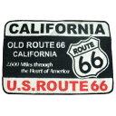 フロアマット ルート66 ROUTE66 FLOOR MAT | フロアーマット 玄関マット キッチンマット バスマット アメリカン雑貨 インテリア
