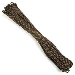 パラシュートコード 30m ナイロン デザートマルチカモ ロープ 綱 靴紐 靴ひも ザイル シューレース
