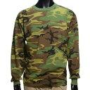 Rothco Tシャツ 長袖 迷彩 6778 [ Mサイズ ] ロングTシャツ ロンT 長そで