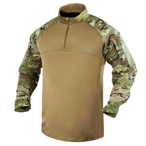 CONDOR コンバットシャツ 101065 [ マルチカム / XLサイズ ] ミリタリーシャツ 長袖シャツ ロングTシャツ アーミーシャツ アサルトシャツ TDUシャツ