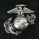 Rothco ピンバッジ 1753 海兵隊 紋章 アンカー | ピンズ ミリタリーバッジ ミリタリーバッチ 記章 徽章 襟章 肩章 胸章 袖章 臂章 階級章