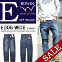 51%OFF セール SALE EDWIN エドウィン E-STANDARD ワ