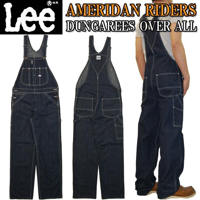 大寸・ビッグサイズ・大きいサイズ【送料無料】Lee(リー)AMERICAN RIDERS アメリカンライダースLee大定番の名作ワークテイストシリーズオーバーオール LM4254-900