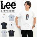 セール SALE Lee リー ロゴプリント 半袖 Tシャツ メンズ レディース ユニセックス プリントTシャツ ロゴTシャツ 半袖Tシャツ LT2527