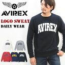 【送料無料】 AVIREX(アビレックス) ロゴプリント 裏...