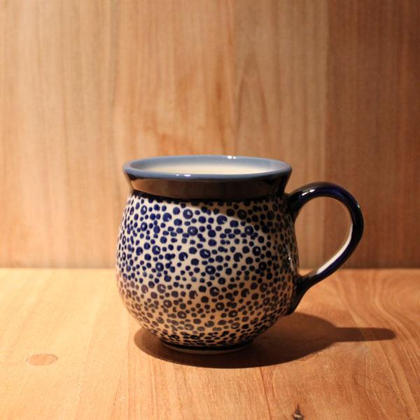ポーリッシュポタリー マグカップS Polish Pottery Mug Cup K67-ALC7【ポーランド陶器 ポーランド食器 ボレスワヴィエツ陶器 Boleslawiec Manufaktura マヌファクトゥラ社】