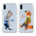 ZOOTOPIA Red Line Clear Jelly/iPhone/Galaxy ケース/カバー/スマホケース