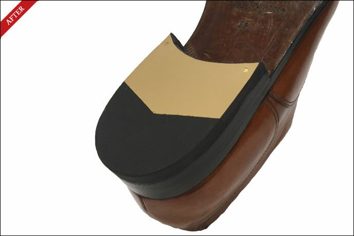 【紳士靴・メンズ靴・ビジネスシューズ】ヒールかかとラスター(革+ゴム)交換(左右両足) 〜楽天市場店モデル〜