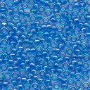 MIYUKI 丸小 シードビーズ 11/0 約2.0mm #261 ブルースキAB 100グラムバラ (20グラムパック×5個) 約11,000粒入り ミユキビーズ