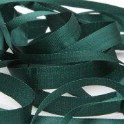 FUJIYAMA RIBBON エンブロイダリーリボン 3.5mm ダークグリーン 9.14M巻 手芸 服飾 ラッピング リボン刺繍