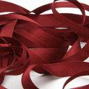 Fujiyama Ribbon エンブロイダリーリボン 7mm ダークレッド 9.14M巻 手芸 服飾 ラッピング リボン刺繍
