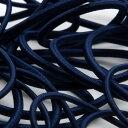 ストレッチコード ポリエステル 3mm ネイビーブルー 9.14M巻 手芸 服飾 ドローコード FUJIYAMA RIBBON