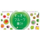 【送料無料】 お得な6箱セット 81種類の酵素と青汁 すっきりフルーツ青汁 3g×30包 02P03Dec16