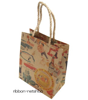 Paper bags, paper bag ☆ smooth bag ☆ kiss me (22-12) SUMU-13