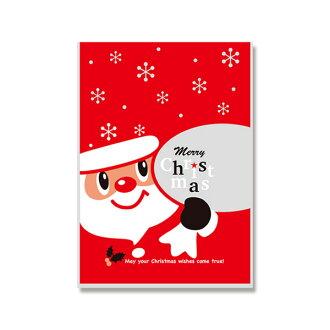 ★ 模式塊水晶包 ★ 時尚透明包裝袋聖誕老人的禮物 (SS) 聖誕-30