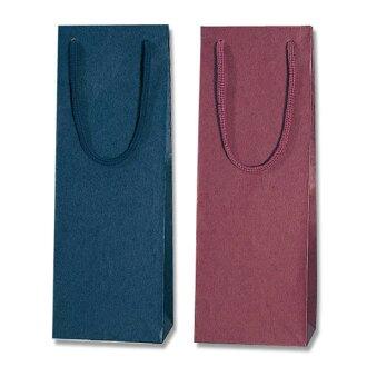 Paper bag ☆ Weinberg color charm bag (wine L) WINE-05