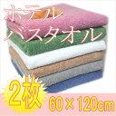 【送料無料】ホテルバスタオル(2枚セット)60×120cm【...