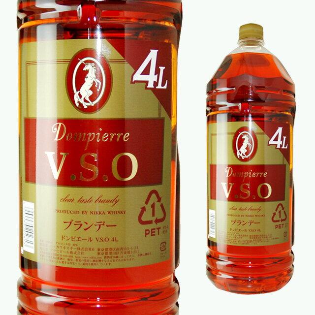 [大容量]ニッカドンピエールVSO4L4000mlブランデーギフトお酒プレゼント誕生日プレゼント内祝