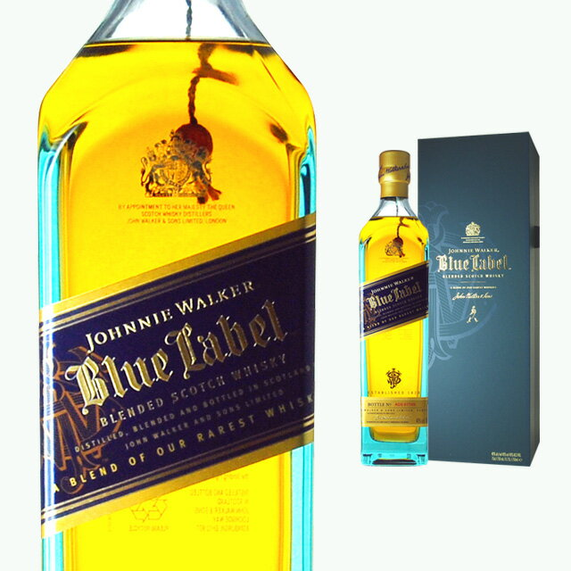 [ボックス入]ジョニーウォーカーブルーラベル40度750mlウイスキーウィスキー結婚祝いギフトお酒プ