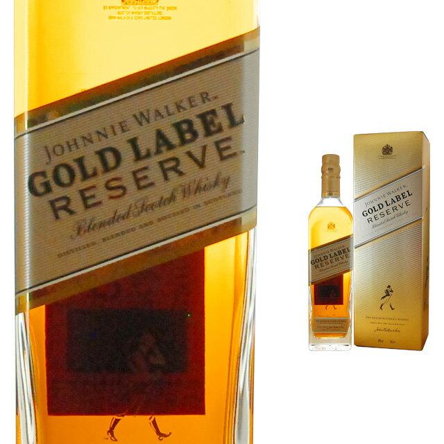 [箱入]ジョニーウォーカーゴールドラベルリザーブ40度700mlウイスキーウィスキースコッチウイスキ