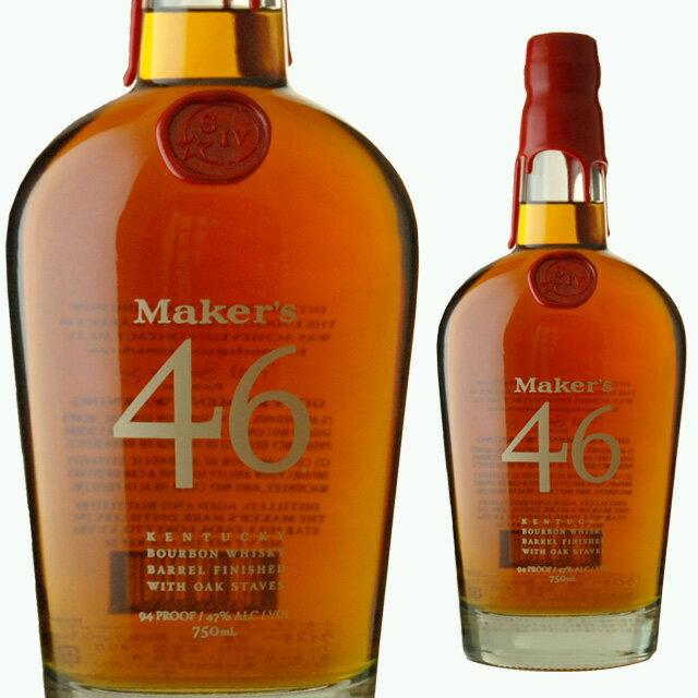 メーカーズマーク4647度750ml箱なしウィスキーバーボンバーボンウイスキーギフト洋酒お酒内祝いウ