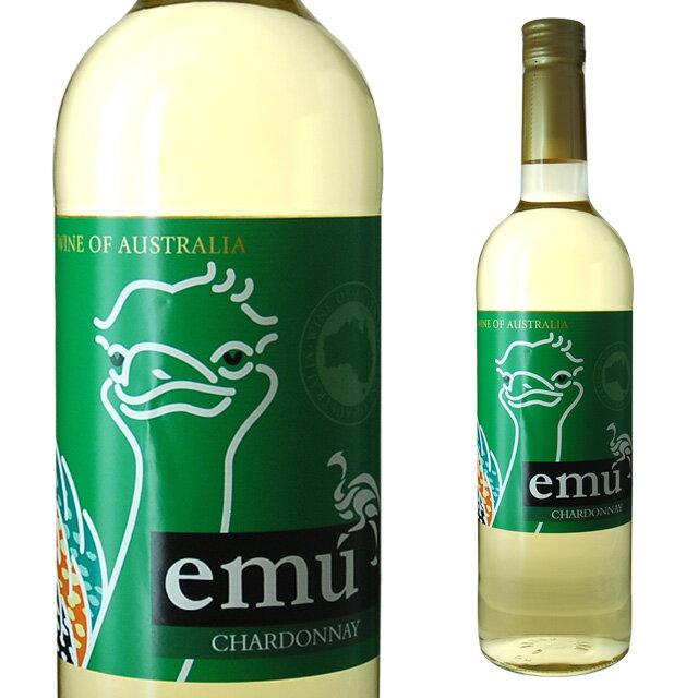 エミューシャルドネ750ml[ワンコイン]ワインギフトお酒プレゼント酒内祝い白ワイン誕生日退職祝い誕