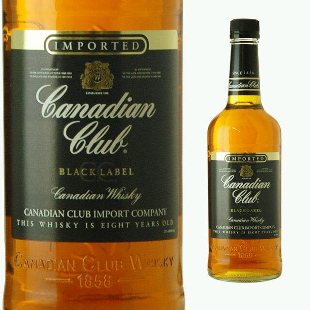カナディアンクラブブラックラベル40度700mlCCウィスキーギフト洋酒お酒プレゼント酒内祝い誕生日