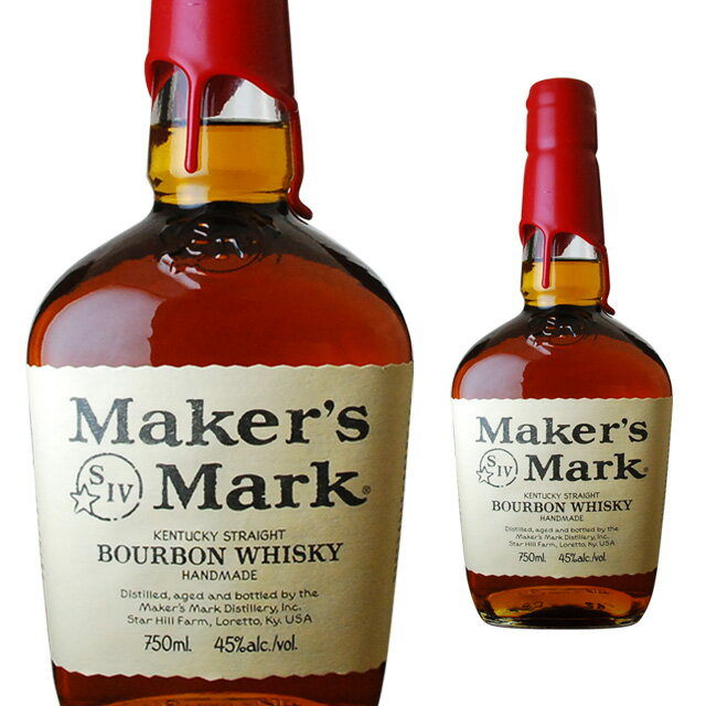 メーカーズマークレッドトップ45度700mlウィスキーバーボンバーボンウイスキーギフト洋酒お酒プレゼ