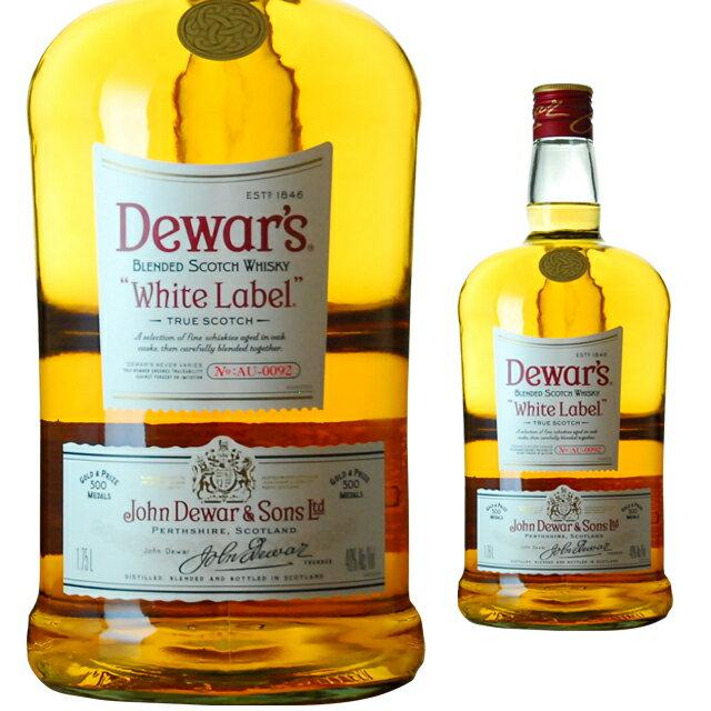 [大容量]デュワーズホワイトラベル1750ml父の日ウイスキーウィスキースコッチウイスキー父の日ギフ
