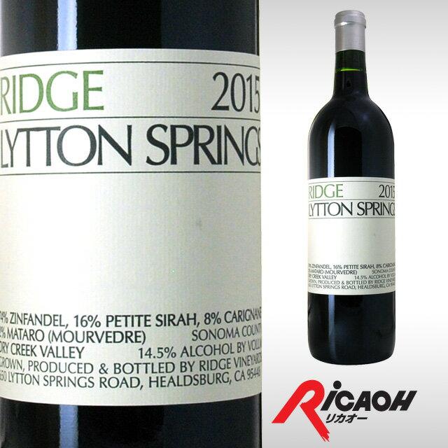 リッジリットンスプリングス20142015750mlワインギフトお酒プレゼント酒内祝い赤ワイン誕生日