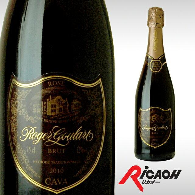 ロジャーグラートカヴァロゼブリュット750mlワインギフトお酒プレゼント女性スパークリングワイン内祝