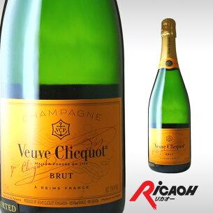 ヴーヴクリコ ポンサルダン ブリュット イエロー ブーブクリコ ディナー シャンパン シャンパーニュ