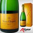 【箱入】ヴーヴクリコ ポンサルダン ブリュット イエローラベル 750ml(お酒 ブーブクリコ ヴーヴ クリコ ディナー シャンパン シャンパーニュ)【ワインならリカオー】