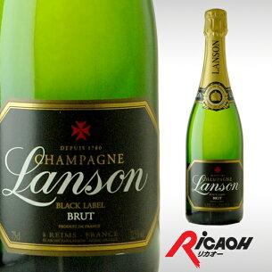 ランソン ブラック ブリュット プレゼント ディナー シャンパン