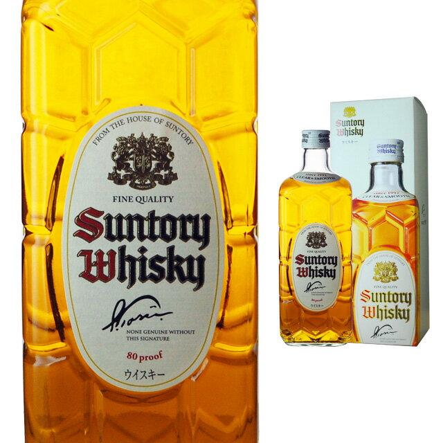 [箱入]サントリー白角40度700ml角瓶新白角ウィスキー父の日ギフト洋酒お酒プレゼント誕生日プレゼ