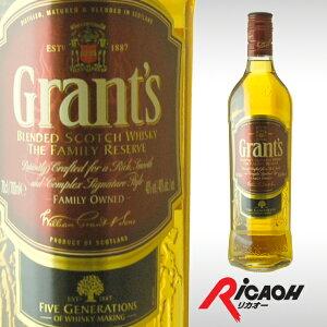グランツ ファミリー リザーブ スコッチ ウイスキー ウィスキー プレゼント