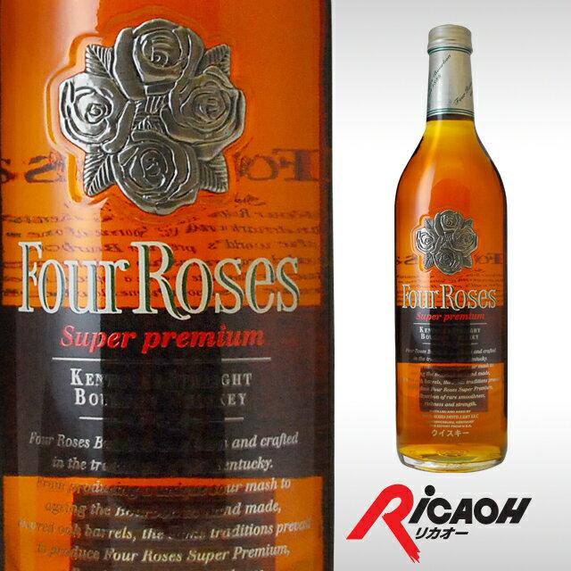 フォアローゼスプラチナ43度750mlウィスキーバーボンバーボンウイスキーギフト洋酒お酒プレゼント内