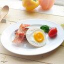 ギガフレンチホワイト 白い食器のワンプレート オーバルプラタ...