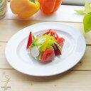 ギガフレンチホワイト 白い食器のオーバルランチプレート 23...