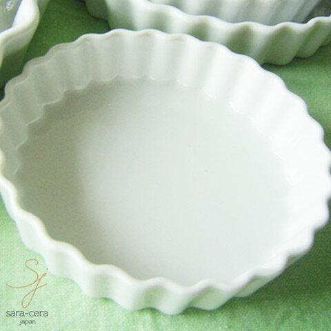 オーブンパイプレート20cm(白い食器洋食器小陶器お菓子型製菓丸型耐熱皿グラタン皿)
