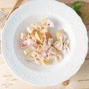 【Set of 4】パレスリストランテ パスタスープディッシュ 4枚セット (白い食器,洋食器