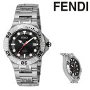 フェンディ 腕時計 Nautico F108100101 メンズ FENDI ステンレススチール サファイアガラス SS[クリスマス]
